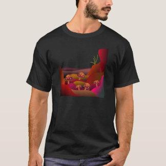 Beautiful Land Where Mushrooms Grow T-shirt