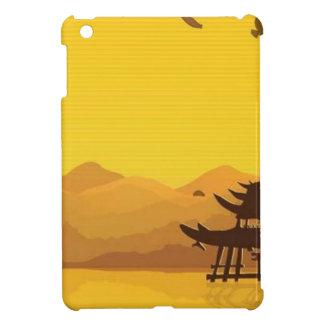 Beautiful landscape background iPad mini cases