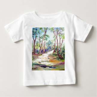Beautiful Landscape of Deep Forest. Baby T-Shirt