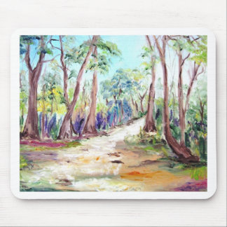 Beautiful Landscape of Deep Forest. Mouse Pad