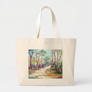 Beautiful Landscape of Deep Forest. Tote Bags