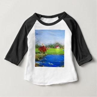 Beautiful landscape painting baby T-Shirt