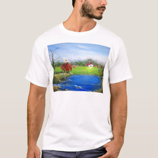 Beautiful landscape painting T-Shirt