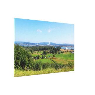 Beautiful landscape photography  near Seattle, U.S Canvas Print
