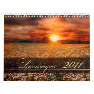 Beautiful landscapes Photography Calendar