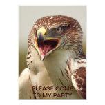 """Beautiful Lanner Falcon Invitation 5"""" X 7"""" Invitation Card"""
