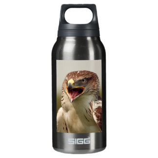 Beautiful Lanner Falcon Liberty Thermos Water Bottle