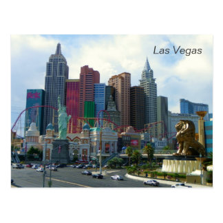 Beautiful Las Vegas View Postcard! Postcard