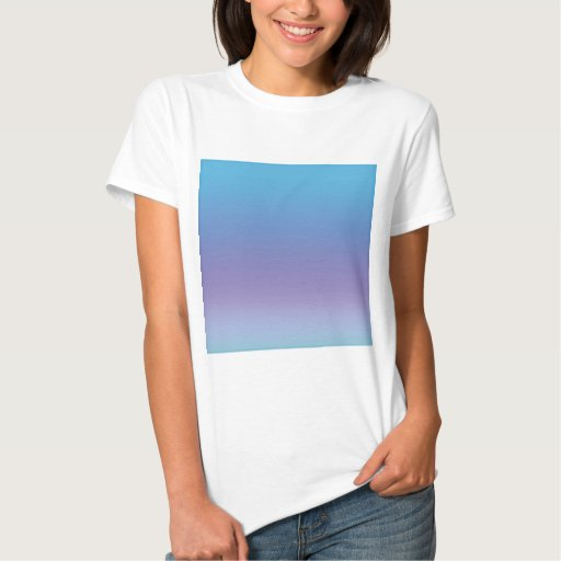Beautiful lavender and blue design T-Shirt