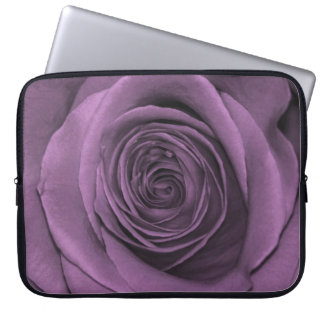 Beautiful Lavender Colored Rose Computer Sleeves