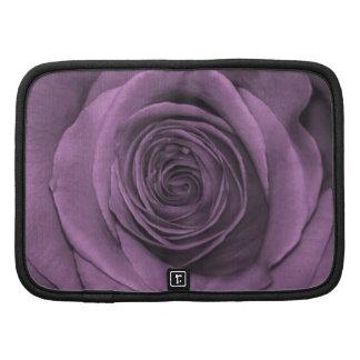 Beautiful Lavender Colored Rose Organizer