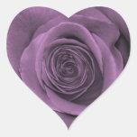 Beautiful Lavender Colored Rose Sticker