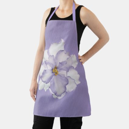 Beautiful Lavender Orchid Apron