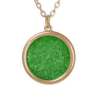 Beautiful Lawn Gold Plated Necklace