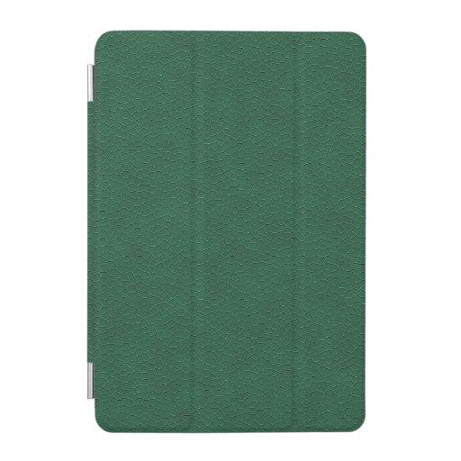Beautiful Leather Garlic Green iPad Mini Cover