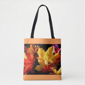 Beautiful leaves tote bag