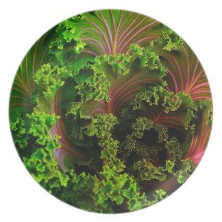 Beautiful lettuce-Plate Dinner Plate