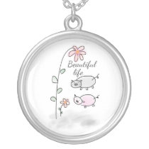 Beautiful Life Silver Plated Necklace