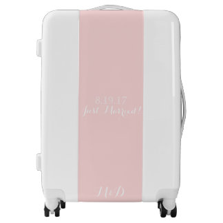 Just Married Luggage - Suitcases | Zazzle