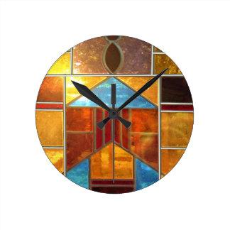 Beautiful light round clock