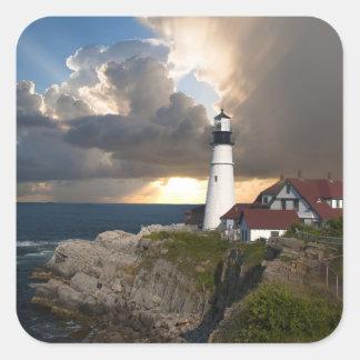 Beautiful Lighthouse Over the Ocean Sticker