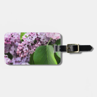 Beautiful Lilac Bloom Luggage Tags