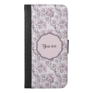 Beautiful Lilac Flowers iPhone 6/6s Plus Wallet Case