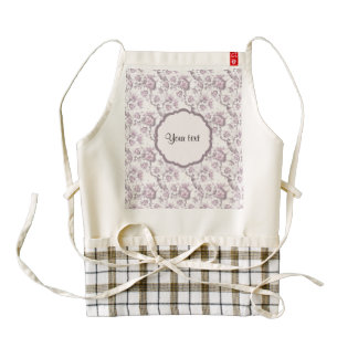 Beautiful Lilac Flowers Zazzle HEART Apron
