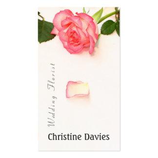 Beautiful lilac photograhy, weddin florist business card