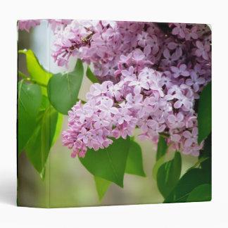 "Beautiful Lilacs 1.5"" Photo Album 3 Ring Binder"