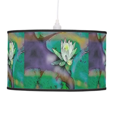 "__apples__boutique_ Beautiful ""Lily"" design lamp"