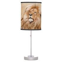 Beautiful Lion Table Lamp
