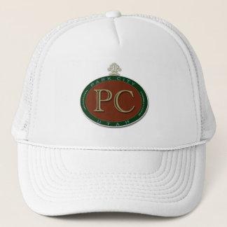 Beautiful Logo Medallion Park City Souvenir Trucker Hat