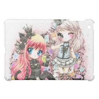 Beautiful lolita cat girls iPad mini cases
