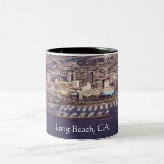 Beautiful Long Beach eBay, Long Beach, CA Two-Tone Coffee Mug