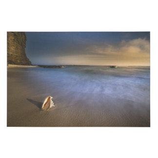 Beautiful Long Exposure Ocean Landscape Canvas