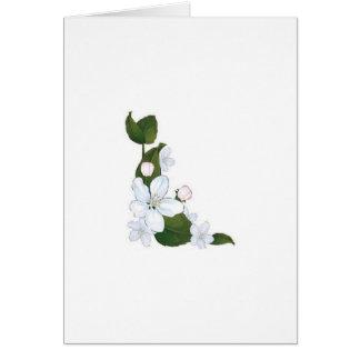 Beautiful lotus flower card