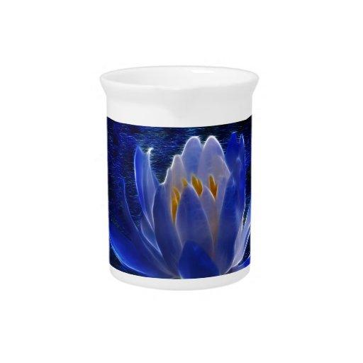 Beautiful Lotus flower Drink Pitcher