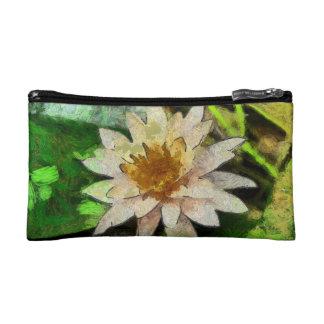 Beautiful Lotus Flower Makeup Bag