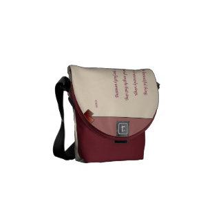 Beautiful Love Messenger Bag