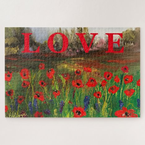 Beautiful Love of Poppies Spread The Love