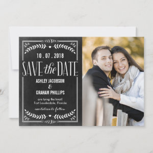 Beautiful Love Save The Date Card