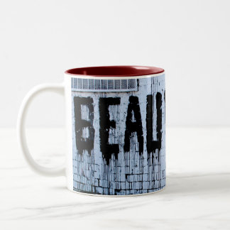 Beautiful - Love - Valentines Two-Tone Coffee Mug