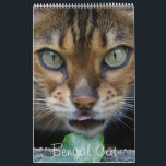 """Beautiful Lovely Bengal Cats 2018 Calendar<br><div class=""""desc"""">a fascinating breed which is loved by many owners and breeders - very sweet but with a wild heart</div>"""