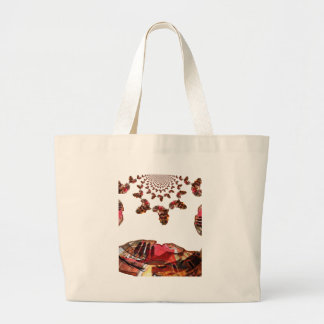Beautiful Lovely Colors Large Tote Bag