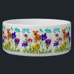 "Beautiful Lovitude Pet Dish ""Peace Garden""<br><div class=""desc"">Beautiful Lovitude Pet Dish ""Peace Garden"" dogs and cats will feel outside when they eat and drink from this beautiful pet bowl. And you"