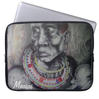 Beautiful Maasai15 inch Neoprene Laptop Sleeve