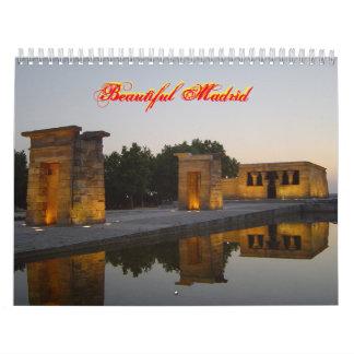 Beautiful Madrid Calendar