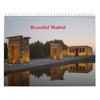 Beautiful Madrid Calendar