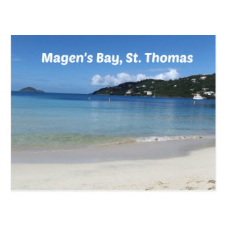 Beautiful Magen's Bay, St. Thomas Postcard